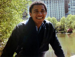 barack obama at columbia