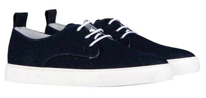 8 Denim Sneakers via YOOX, $56.00