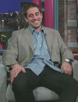 Aaron Rodgers Fails to Execute on Letterman