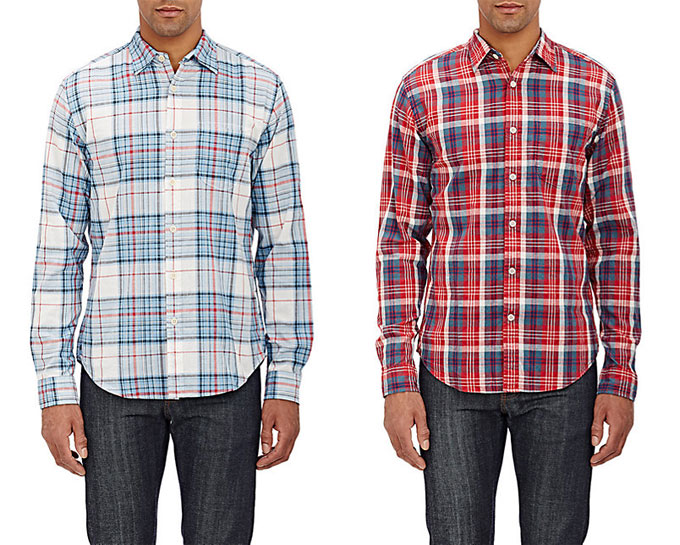 MB Deal of the Week: Alex Mill Plaid Shirts