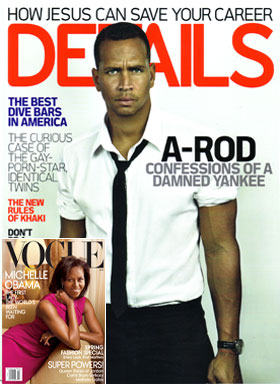 Alex Rodriguez is Artfully Disheveled