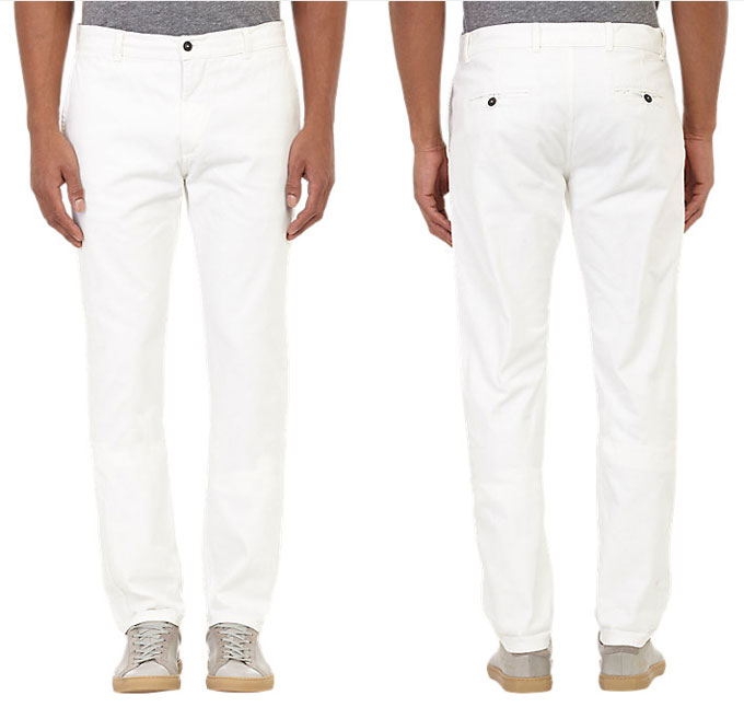 MB Deal of the Week: Brooklyn Tailors White Denim Pants