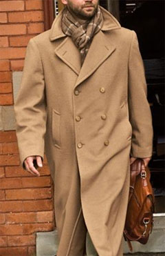 January 12 2010 Camel Hair Trench Coat Via J L Powell 2297 00