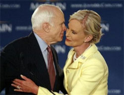 BREAKING: Cindy McCain Challenges Hillary Clinton to 'Ugliest Outfit' Contest; Wins