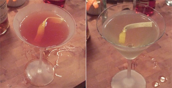 MB Cocktail Contest: alex smith vs. John Dietl
