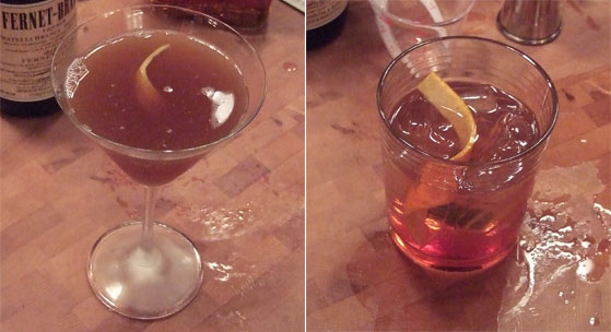 MB Cocktail Contest: Chris Stanley vs. Bob Schmitt