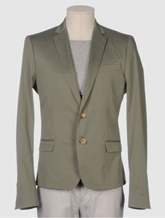 Costume National Blazer via YOOX, $155.00