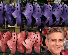 George Clooney: Crocs' Last Victim?