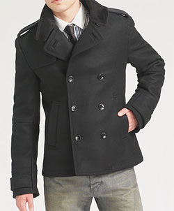 D&G Cropped Wool Peacoat, With Epaulets via Saks Fifth Avenue, $1015.00
