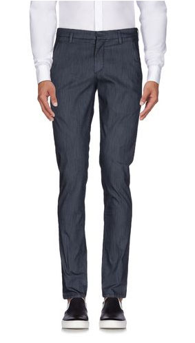Dondup near-denim trousers via YOOX, $98.00