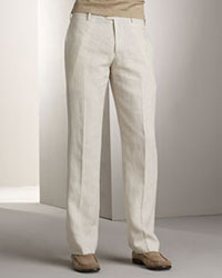 Etro Linen Trousers via Bergdorf Goodman, $103.00