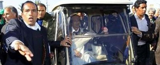 Gaddafi Vehicle Choice Sends Mixed Signals