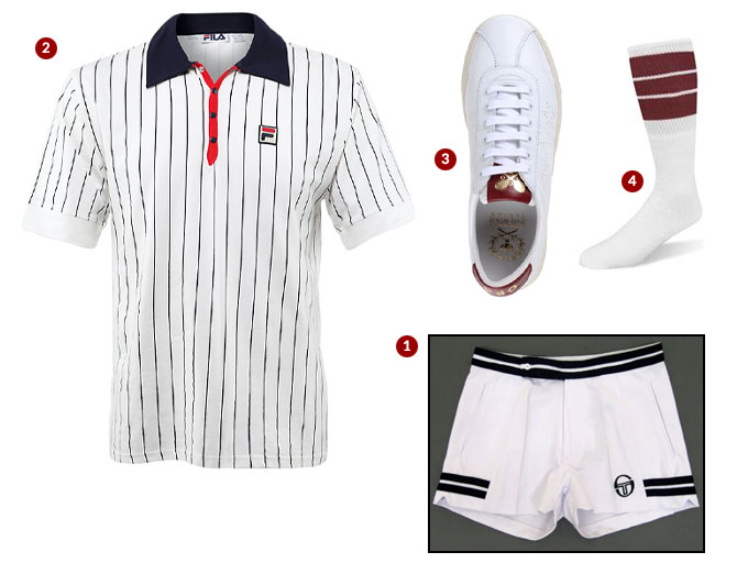 Get Dressed: Tennis Match During Wimbledon