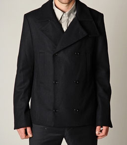 Helmut Lang Heavy Felt Coat via Tobi, $645.00