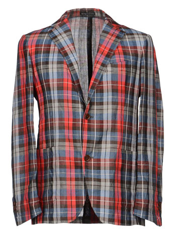 Henry Cotton's Madras Blazer via YOOX, $67.00