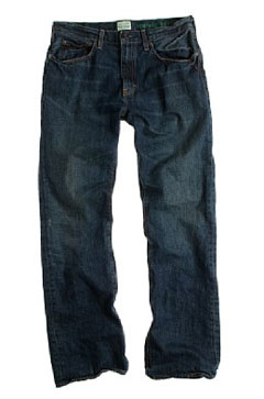 Vintage bootcut-fit jean in dark worn wash via J. Crew, $96.00