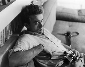James Dean, displaying his feelings toward sleeve tabs