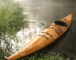 Cedar Strip Kayak via Justin Charles, $16000.00