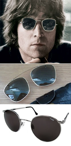 Ask the MB: John Lennon's Clip-On Sunglasses