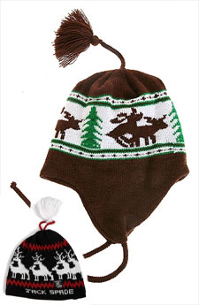 Humping Moose Ear Flap Hat via Urban Outfitters, $34.00