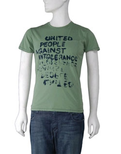Project E Against Intolerance Tee via Lisa Kline, $25.00
