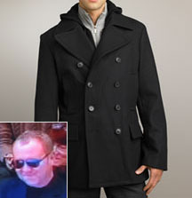 Michael Kors Wool Peacoat via Neiman Marcus, $495.00