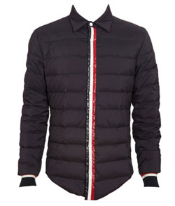November 5, 2010 Moncler 'Grenoble' Padded Shirt via Browns, $561.35