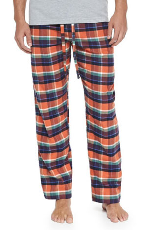 Plaid Two-Piece Pajama Set via Neiman Marcus, $56.00