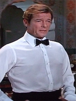 James Bond and Sheer Dress Shirts