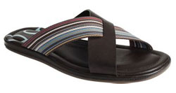 Paul Smith Dark Brown Swami via Barney's Co-Op, $129.00