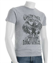 Project E Heather Grey Crewneck T-Shirt via Bluefly, $25.00