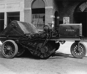 The Elgin #1. Keeping Pulaski's streets clean since 1914