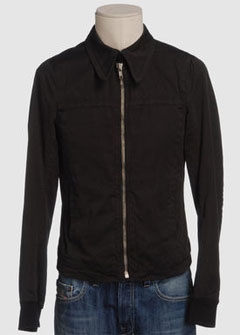 Rick Owens canvas jacket via YOOX, $564.00