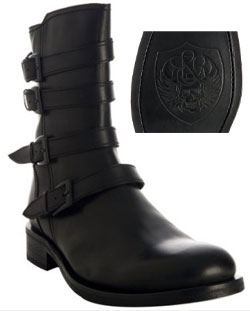 Rock & Republic Motorcycle Boots via bluefly.com, $240.00