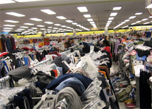 Actual photo from inside Ross Dress for Less
