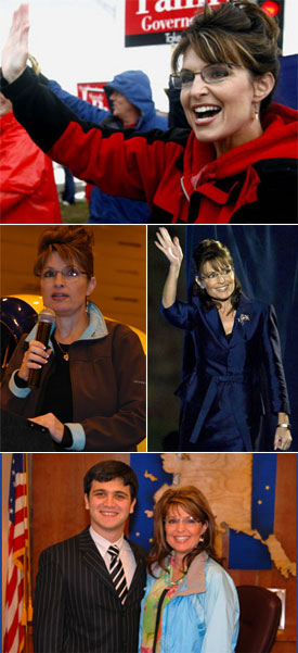 Sarah Palin Clothes Sorting Assistance