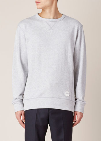Grey Heather Bowery Sweatshirt via Totokaelo, $49.00