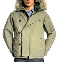 Modified N2B Snorkel Parka  via Spiewak, $155.00