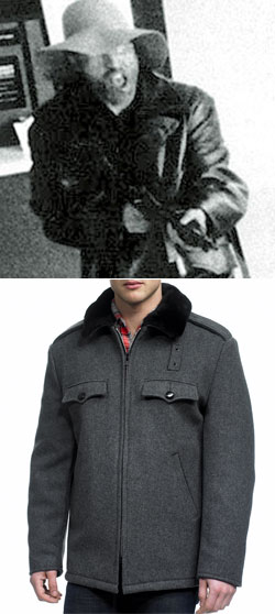 TOP: Symbionese Liberation Army leader Donald David DeFreeze<br />BOTTOM: Spiewak Vintage NYPD Jacket, Autumn/Winter 2010