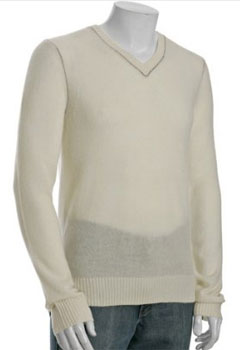 Theory Cashmere Sweater via bluefly.com, $114.75