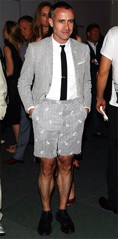 Ask the MB: Thom Browne Suit With Shorts