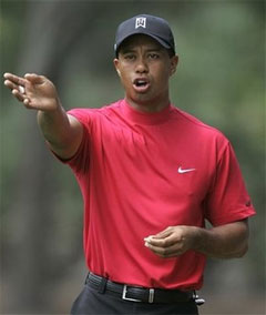 Tiger Woods Out of Collared Shirts