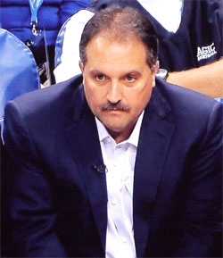 Stan Van Gundy at the 2010-11 season opener