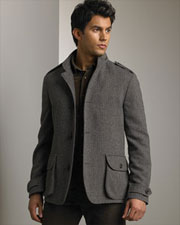 Herringbone Hooded Blazer via Bergdorf Goodman, $998.00