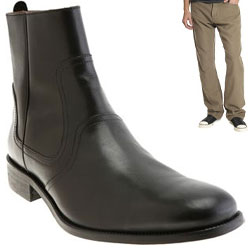 John Varvatos Side Zip Boot via Barney's, $299.00
