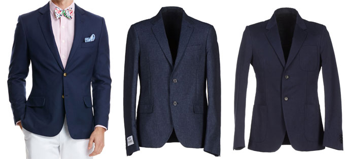 Ask the MB: Blue Blazer for Summer Wedding