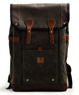 Babylon Backpack via Wheelman & Co., $199.99