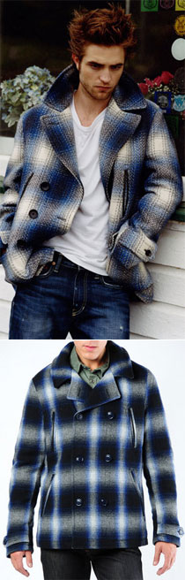 Tip the MB: Woolrich Peacoat