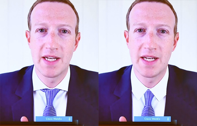 Another Candidate for Spread Collars Discovered: Mark Zuckerberg
